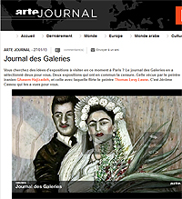 Arte Journal galerie Claire Corcia